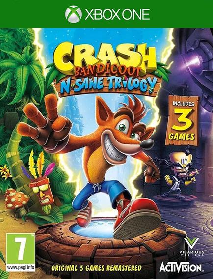 Crash Bandicoot Trilogy Xbox One - 25 Dígitos (envio Já)