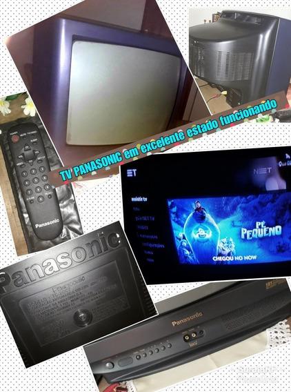 Tv Panasonic Em Ótimo Estado - Pronta Para Uso