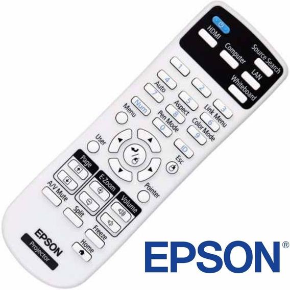 Controle Remoto Projetor Epson S3/s4/s5/s8/s10/x14/s12/s18..