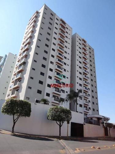 Apartamento Com 3 Dormitórios À Venda, 120 M² Por R$ 490.000,00 - Jardim América - Bauru/sp - Ap3065