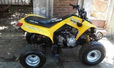 Cuatri Can Am Ds 250 2008 Patentado Con Trailer
