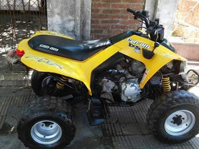 Cuatri Can Am Ds 250 2008 Patentado Con Trailer