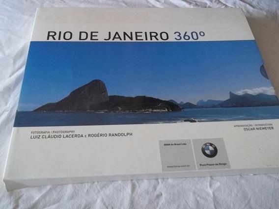 * Livro - Rio De Janeiro 360º - Oscar Niemeyer, Luiz Claudio