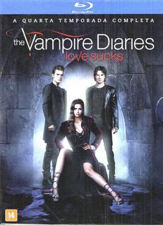 Bluray The Vampire Diaries - 4a Temporada- Frete Incluso