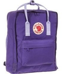 Mochila Kanken Classic Fjallraven Sueca Orig Purple Violet