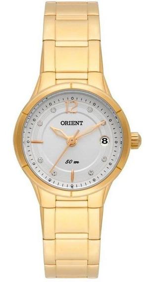 Relógio Orient Feminino Analógico Dourado Fgss1120 S2kx