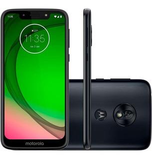 Smartphone Moto G7 Play, Índigo, Xt1952, 5.7 , 32gb, 13mp