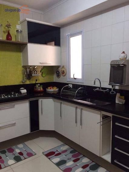 Apartamento Com 3 Dormitórios À Venda, 103 M² Por R$ 636.000 - Jardim Satélite - São José Dos Campos/sp - Ap3499