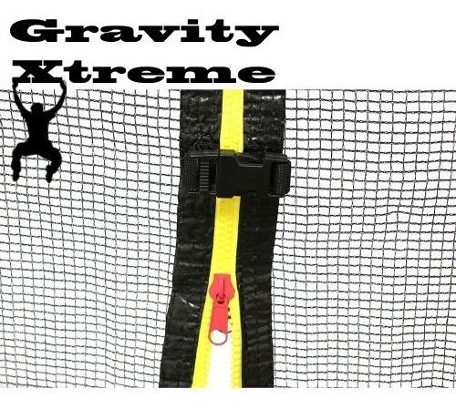Red De Proteccion 3.05 Sola Cama Elastica Gravity Xtreme