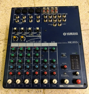 Consola Yamaha Mg102c