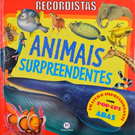 Livro - Recordistas: Animais Surpreendentes - Pop-up