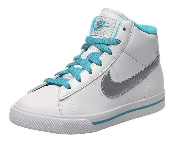 Tenis Infantil Nike Sweet Classic High Blanco Envío Gratis