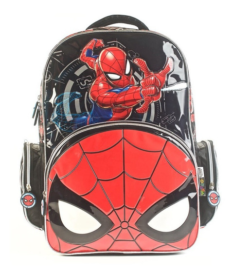 Mochila Spider-man Go Spidey Espalda 17