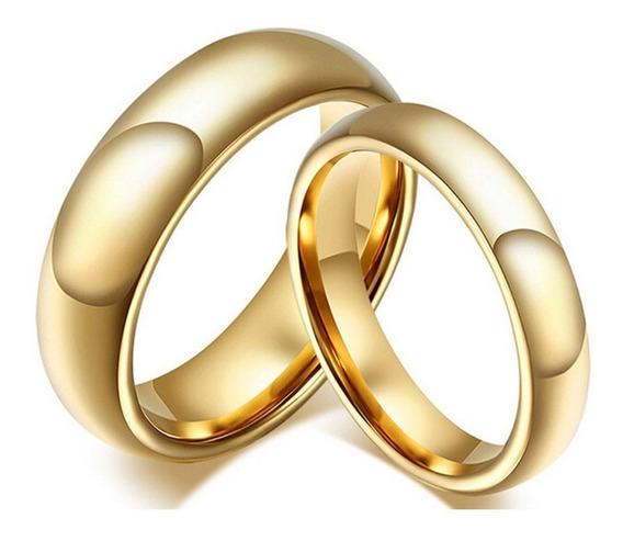 Par Aliança Tungstênio 6mm Casamento Noivado Compromisso