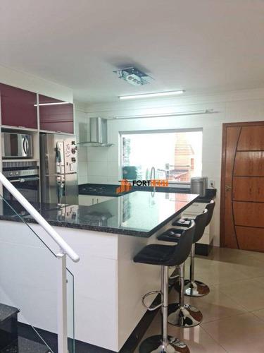 Imagem 1 de 18 de Sobrado Com 3 Dormitórios À Venda, 161 M² Por R$ 850.000,00 - Vila Carrão - São Paulo/sp - So0042