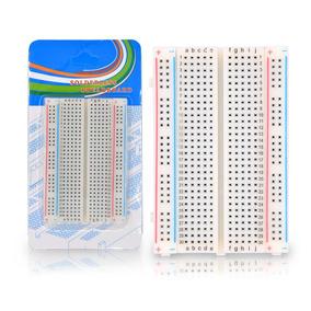 Protoboard Placa De Ensaio 8.5 Cm X 5.5 400 Pontos