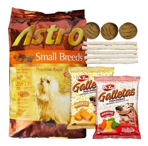 Imagen 1 de 2 de Astro Small Breeds Sb Raza Pequeña 15 Kg + Regalo + Envío