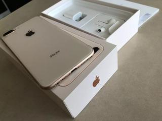 iPhone 8 Plus 64gb Gold Bem Conservado