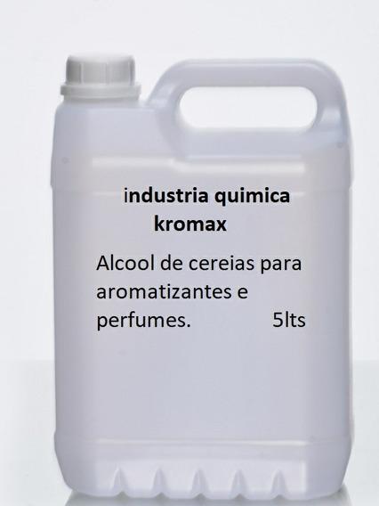4 Uni. Alcool De Cereais Refinado 5lts Max. 4 Unidades