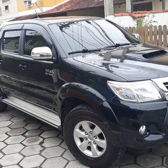 Toyota Hilux 2015 Srv 3.0 Td 4x4 Autom. + Couro E Rodas