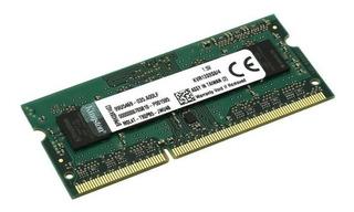 Memoria 4gb (1x4gb) Kingston, P/laptop, Ddr3l, 1600mhz