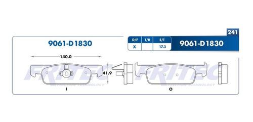 =spc75y5z Balata Delantera Renault Logan 15-18