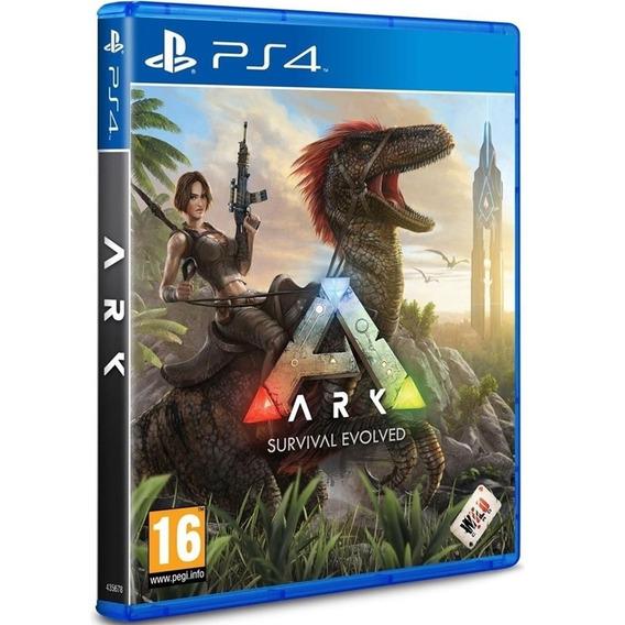 Ark Survival Evolved Ps4 Disco Fisico Cd Original Lacrado Br
