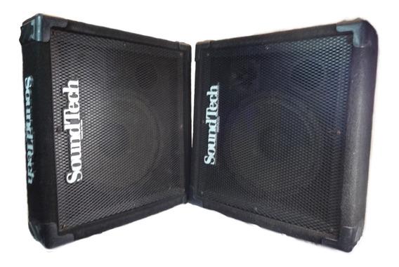 Par Monitores Palco Caixas Retorno Passivas Soundtech Usa