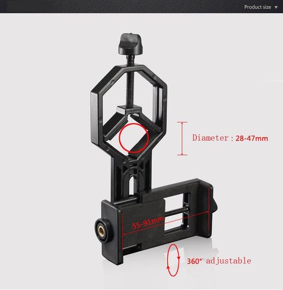 Scope Cam - Suporte Câmeras Para Lunetas, Telescópios