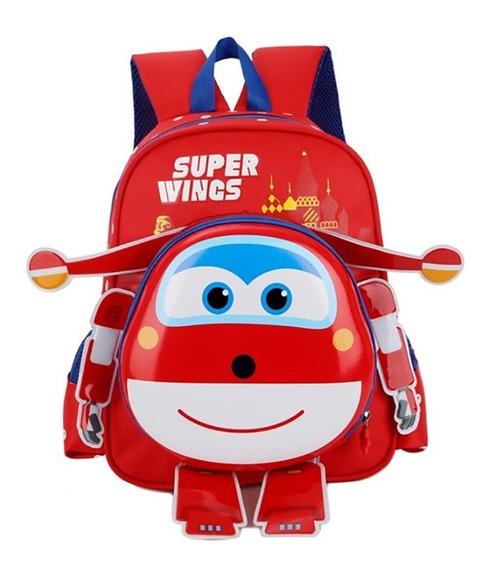 Mochila Super Wings 3d Jett Jerome