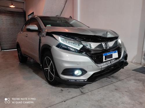 Honda Hrv Exl Cvt 2020 Chocado En Marcha