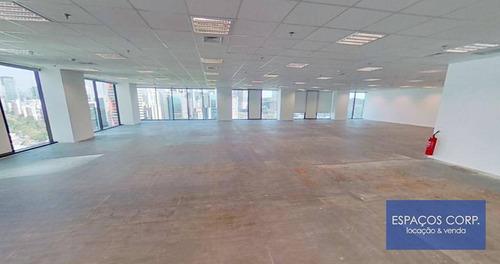 Imagem 1 de 16 de Laje Corporativa Para Alugar, 4227m² - Brooklin - São Paulo/sp - Lj0668
