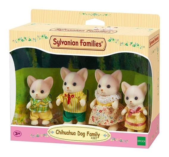 Sylvanian Families 4387 Familia De Perros Chihuahua Intek