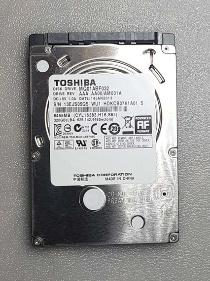Hd 320 Gb Toshoba Para Notebook