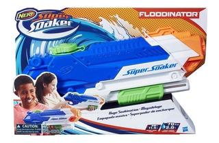 Pistola Lanza Agua Nerf Soaker Floodinator Hasbro - Nuevo