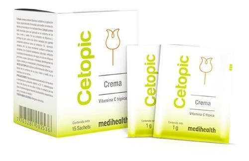 Cetopic Crema Vitamina C Tópica .- Caj - g a $1327