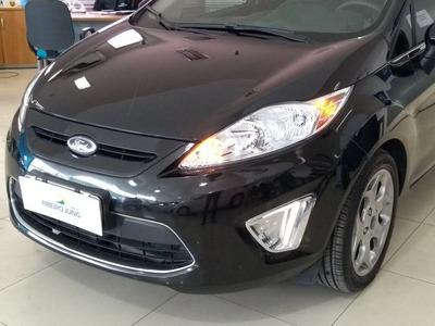 Ford Fiesta 1.6 Se 16v 2012 Preta Flex
