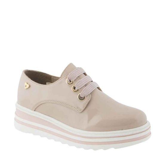 Zapato Casual Bambino 3193 Color Nutty Tipo Charol 820712