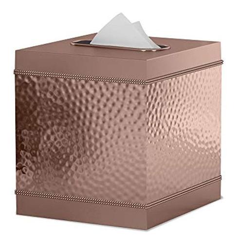 Caja Para Pañuelos De Tela Color Marrón Marca Pyle