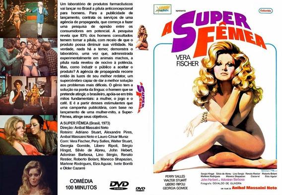 Dvd A Super Fêmea 1973 - Vera Fischer - Filme Nacional