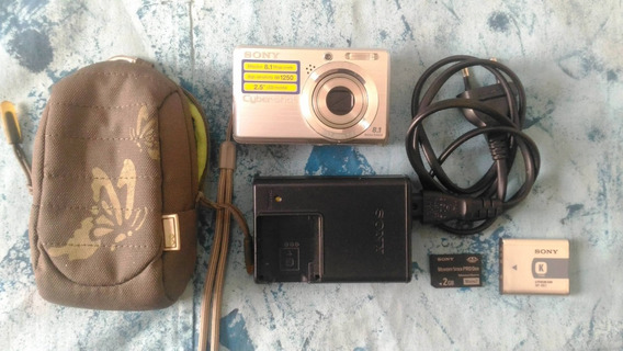 Câmera Fotográfica Digital Sony Cyber-shot Dsc-s780 8.1 Mp