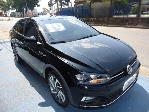 Volkswagen Virtus 2019 1.0 Highline Tsi Automático Preto