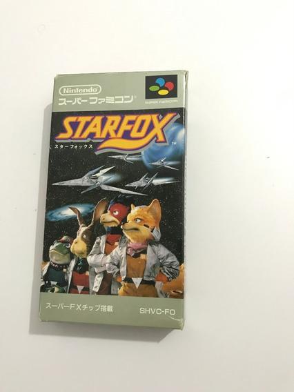 Star Fox - Original Jap Completo - Snes