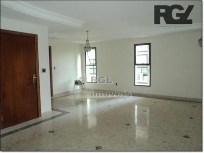 Apartamento Com 3 Dormitórios Para Alugar, 280 M² Por R$ 7.500/mês - Vila Rica - Santos/sp - Ap1144
