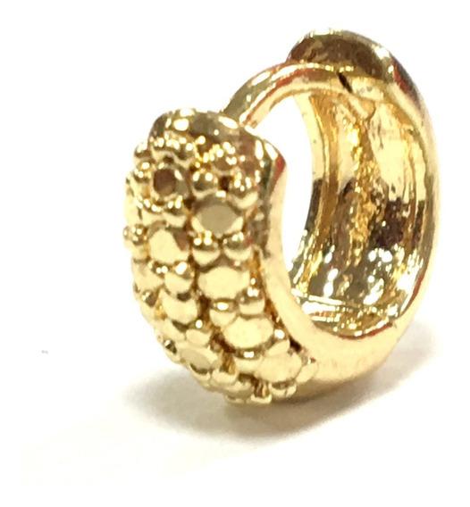 Piercing Cartilagem Argolinha Cravejado De Zircônias 6mm