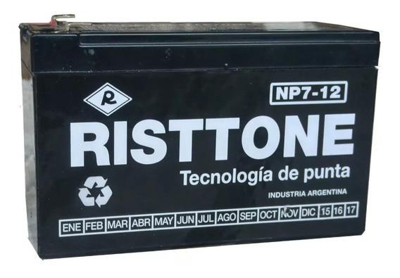 Bateria Alarma 12 V 7 Ah Risttone Recarg. Consultar Stock !!