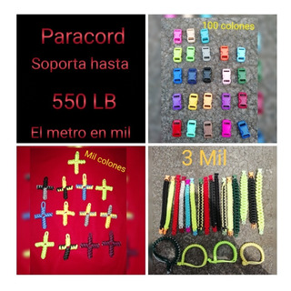 Pulseras Paracord