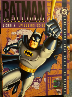 Batman La Serie Animada Volumen 3 Disco 4 Dvd Original
