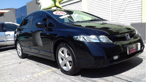 Honda Civic Lxs Flex 2008 Ótimo Estado $ 28990 Financiamos