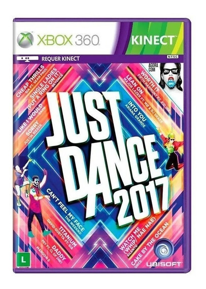 Just Dance 2017 Xbox 360 Novo Mídia Fisica Novo Original